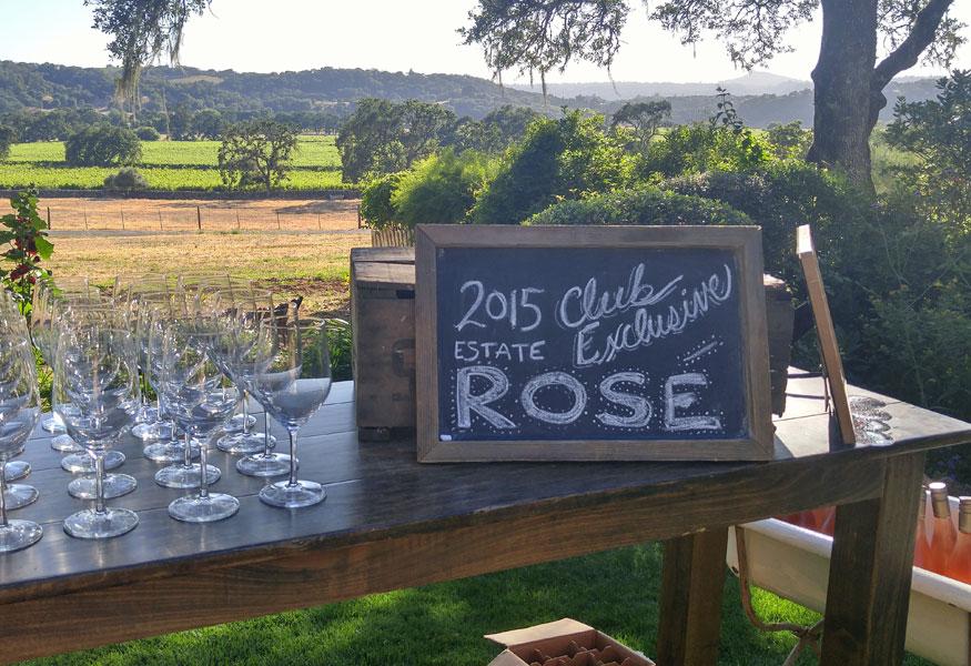 Sonoma Valley Wine Club Events