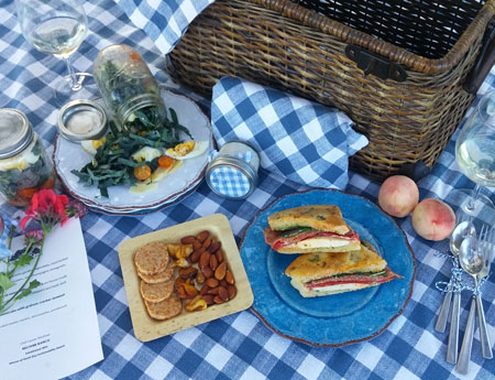 Sonoma Valley Vineyard, Winery & Farmstay Inn Chef's Picnic Wine Pairing