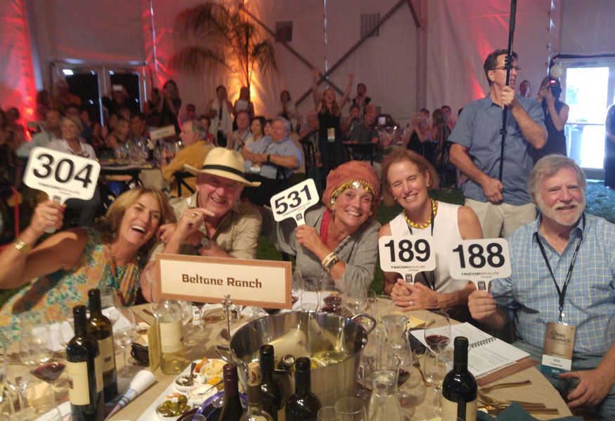 Sonoma Valley Wine Club Harvest Wine Auction