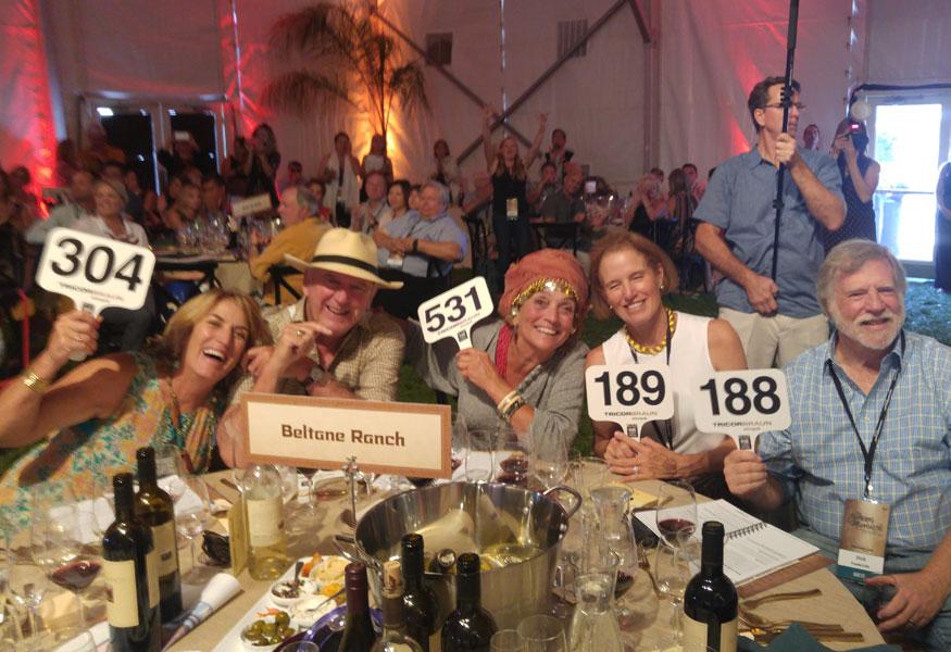 Sonoma Valley Wine Club Harvest Wine Auction
