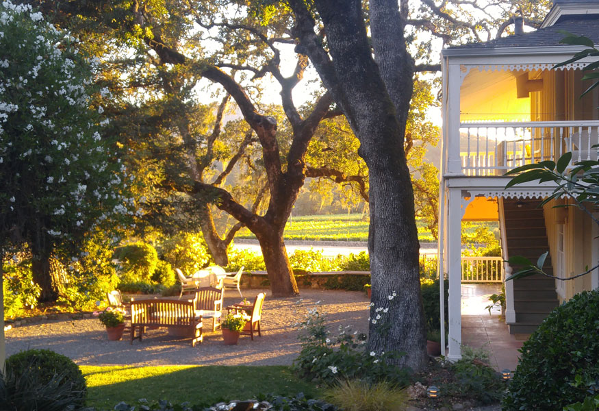 Sonoma Valley Bed & Breakfast Farm Stay Inn Winery Event Venue