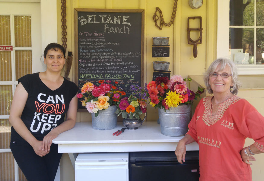 Beltane Ranch Working Ranch Estate Gardens, Winery and Farm Stay Glen Ellen