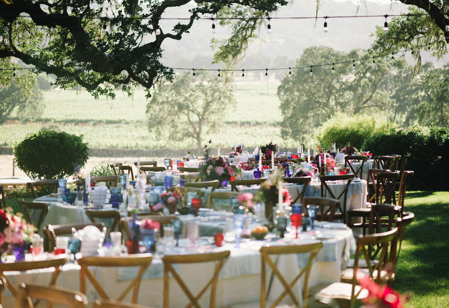 Sonoma luxury ranch wedding