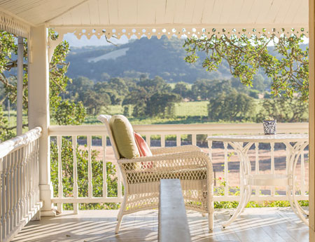 Sonoma Valley Bed & Breakfast Farm Stay Inn Number #1 vineyard views