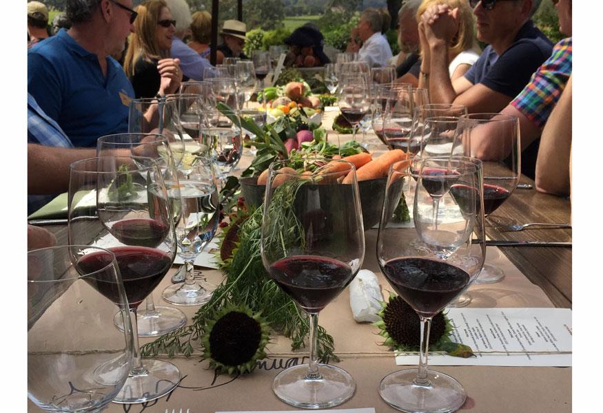 Sonoma Valley Estate Grown Sonoma Farm Stay Agriturismo Catering Organic Home Grown Design Winemaker dinner