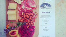 Sonoma Valley Vineyard, Winery & Farmstay Inn Cheese Board