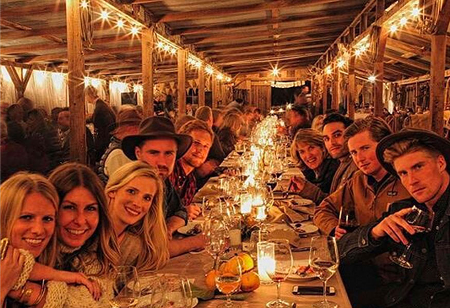 Sonoma Valley Beltane Ranch Bed & Breakfast Farm Stay Inn Winery Release Party Wine Club Event Barn Party Zinfandel