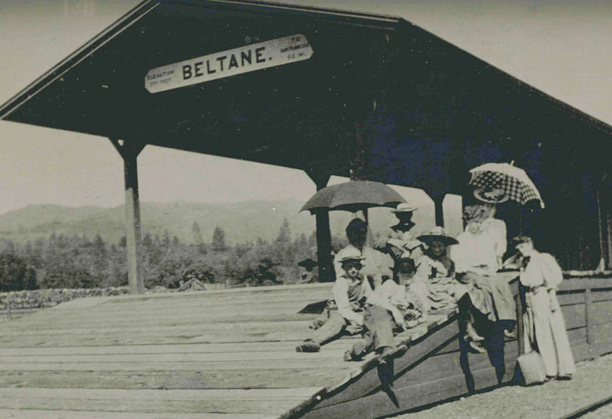 Wood Benward Krause Family Historic Beltane Ranch Family Owned and Operate Working Ranch 1892 Glen Ellen Southern Pacific Railway
